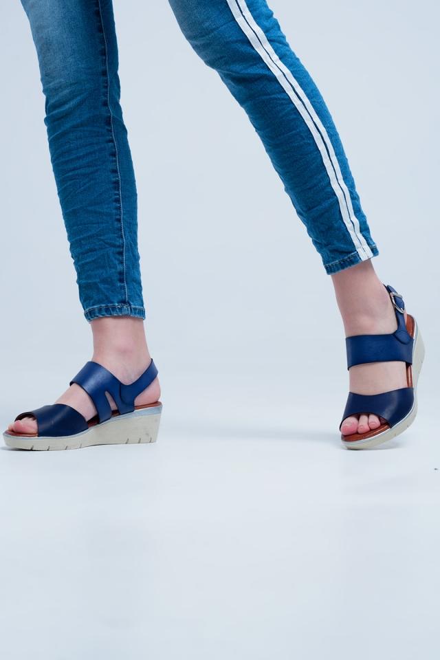 Sandálias de marinho