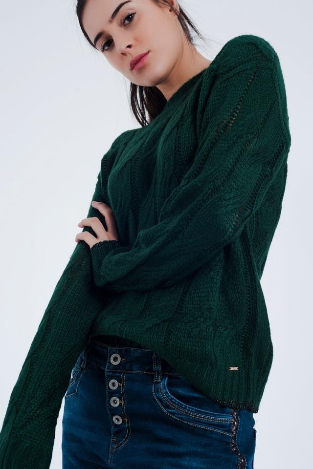 Jersey verde com oito